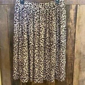 H&M cheetah print skirt!